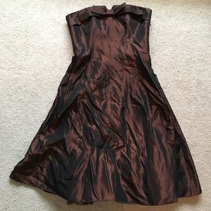 Betsy Johnson Brown Cocktail dress